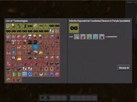 Mod Factorio Infinite Research